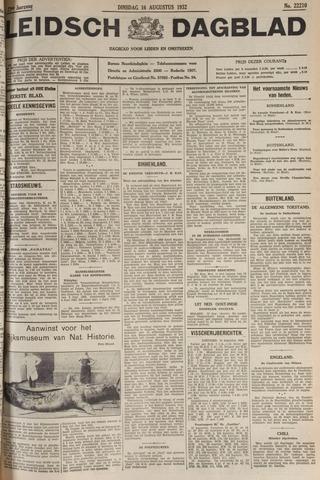 Leidsch Dagblad 1932-08-16