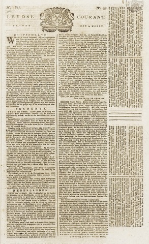 Leydse Courant 1817-03-14