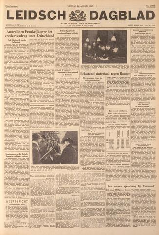 Leidsch Dagblad 1947-01-24