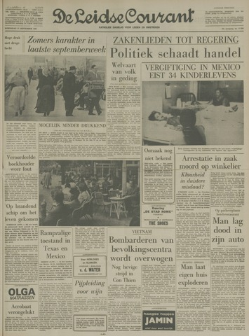 Leidse Courant 1967-09-27