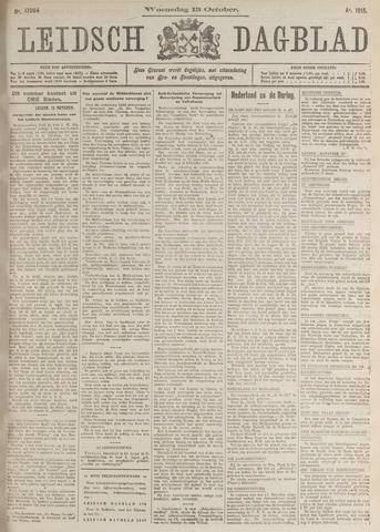 Leidsch Dagblad 1915-10-13