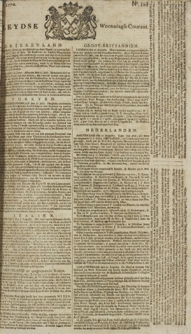 Leydse Courant 1770-08-22