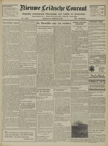 Nieuwe Leidsche Courant 1938-02-08