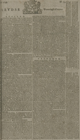 Leydse Courant 1749-07-02