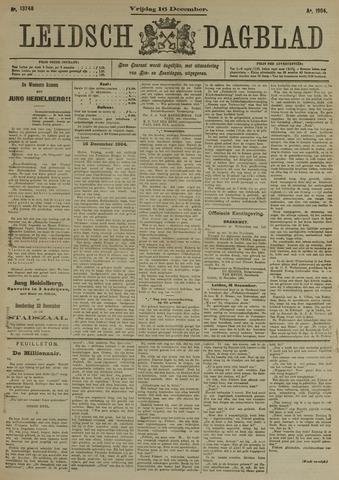 Leidsch Dagblad 1904-12-16