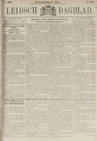 Leidsch Dagblad 1892-07-07