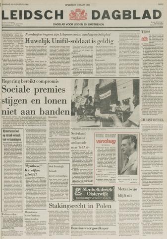 Leidsch Dagblad 1980-08-26