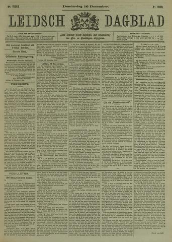 Leidsch Dagblad 1909-12-16