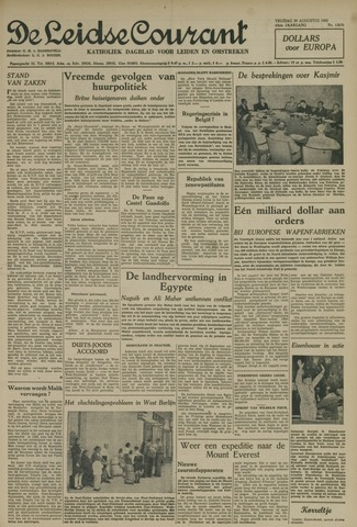 Leidse Courant 1952-08-29