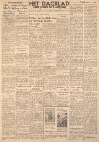 Dagblad voor Leiden en Omstreken 1944-06-28