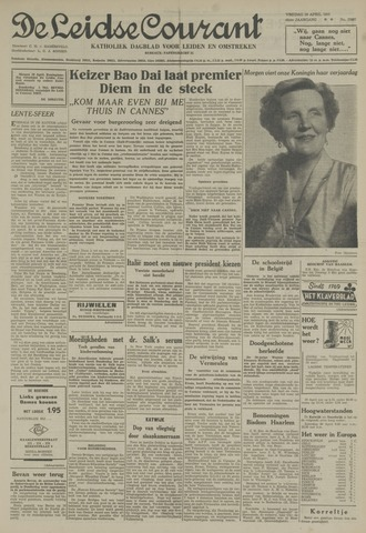 Leidse Courant 1955-04-29