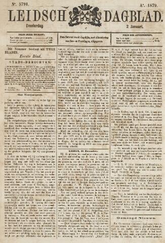 Leidsch Dagblad 1879