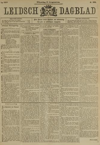 Leidsch Dagblad 1904-08-09