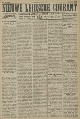 Nieuwe Leidsche Courant 1927-10-28