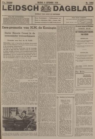 Leidsch Dagblad 1938-09-09
