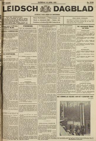 Leidsch Dagblad 1932-04-16