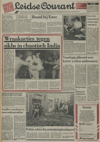Leidse Courant 1984-11-01
