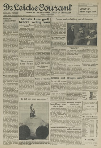 Leidse Courant 1954-05-13