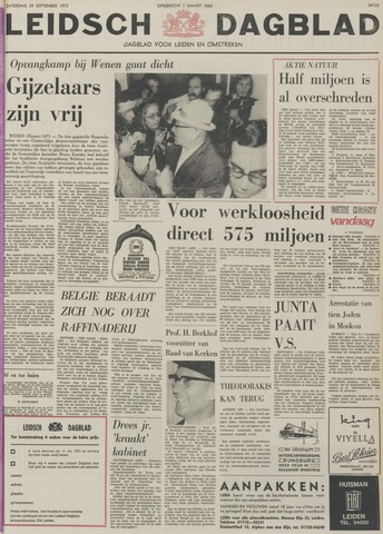 Leidsch Dagblad 1973-09-29