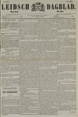 Leidsch Dagblad 1873-05-26