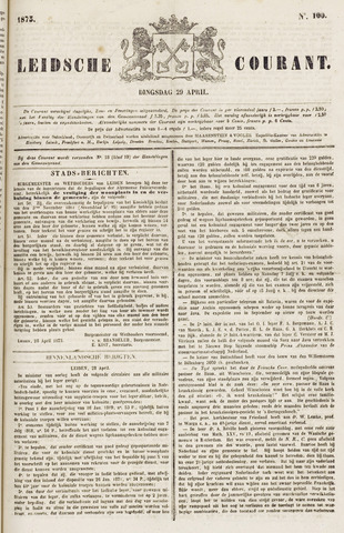 Leydse Courant 1873-04-29