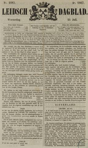Leidsch Dagblad 1867-07-24