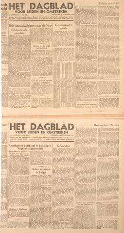 Dagblad voor Leiden en Omstreken 1944-11-21