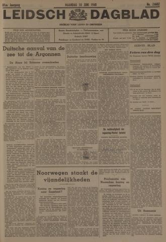 Leidsch Dagblad 1940-06-10