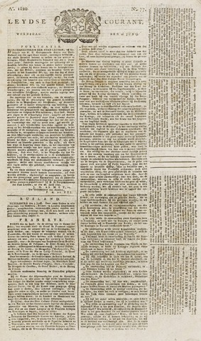 Leydse Courant 1820-06-28
