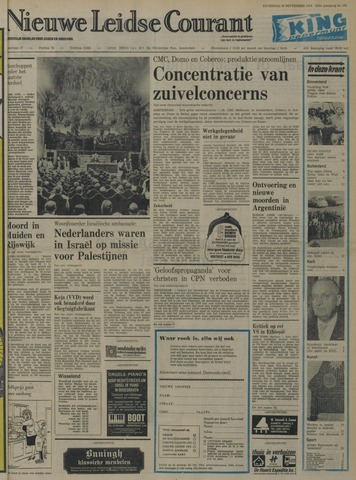 Nieuwe Leidsche Courant 1974-09-28