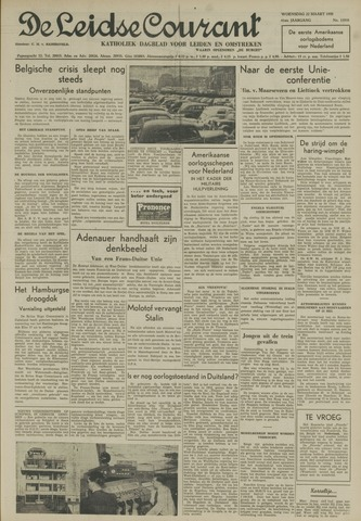Leidse Courant 1950-03-22
