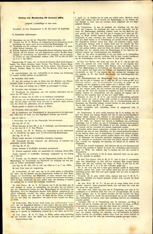 Handelingen van de Raad 1885-01-29