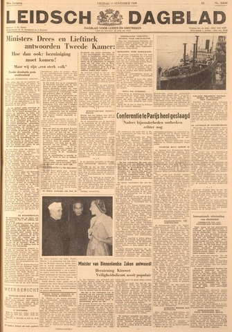 Leidsch Dagblad 1949-11-11