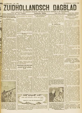 Zuidhollandsch Dagblad 1944-06-03