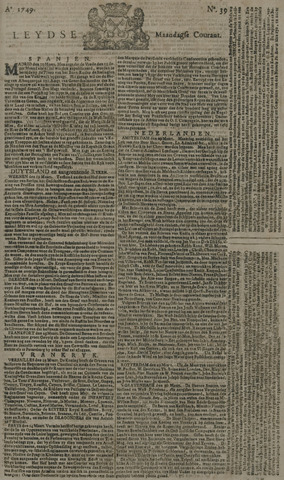 Leydse Courant 1749-03-31