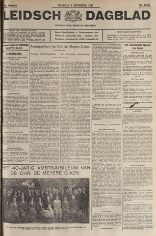 Leidsch Dagblad 1933-09-04