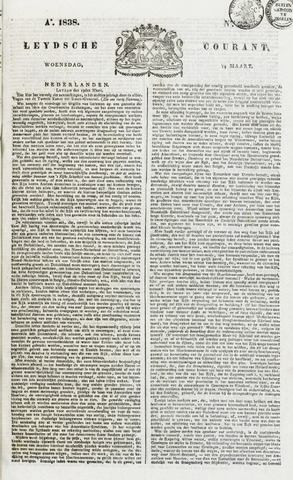 Leydse Courant 1838-03-14