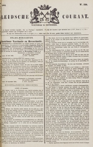 Leydse Courant 1884-09-24