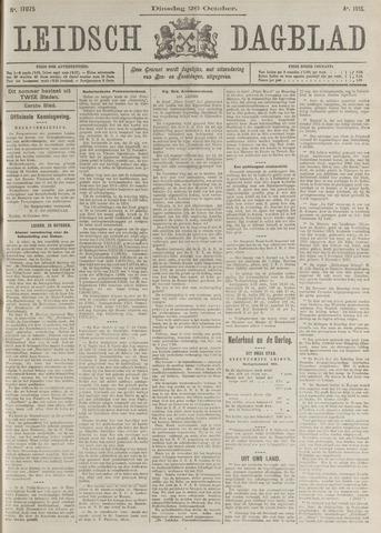 Leidsch Dagblad 1915-10-26