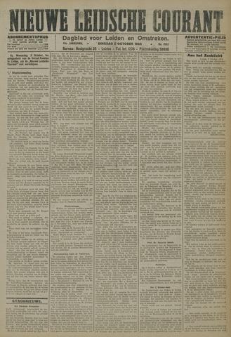 Nieuwe Leidsche Courant 1923-10-02