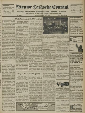 Nieuwe Leidsche Courant 1938-07-14