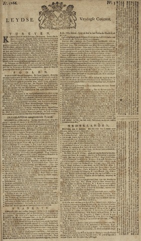 Leydse Courant 1766-01-10