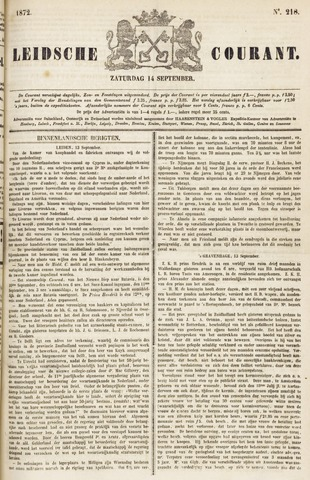 Leydse Courant 1872-09-14