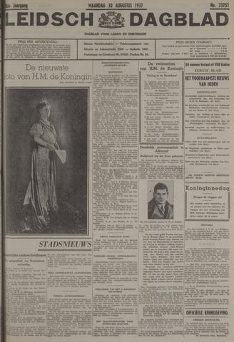 Leidsch Dagblad 1937-08-30