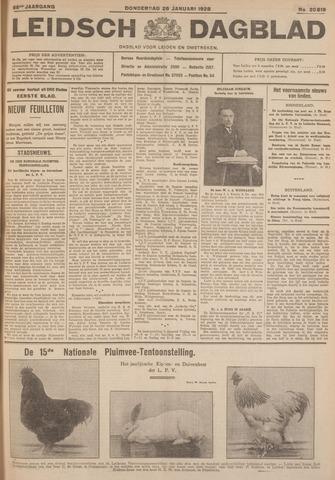 Leidsch Dagblad 1928-01-26