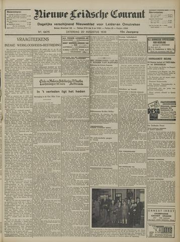 Nieuwe Leidsche Courant 1938-08-20