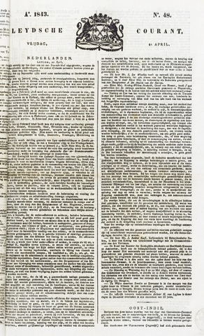 Leydse Courant 1843-04-21