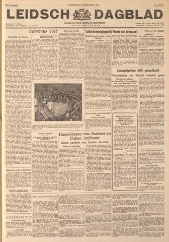 Leidsch Dagblad 1947-12-27