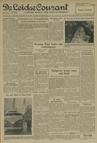 Leidse Courant 1952-09-23