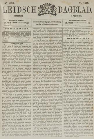 Leidsch Dagblad 1878-08-01